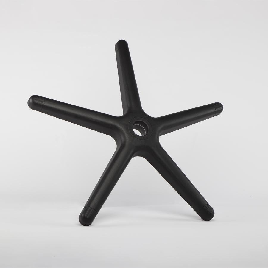 Kříž černý pětiramenný, průměr 630 mm