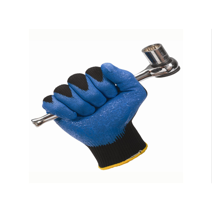 Rukavice JACKSON SAFETY G40 SMOOTH NITRILE, L/8, fialová, 60 párů