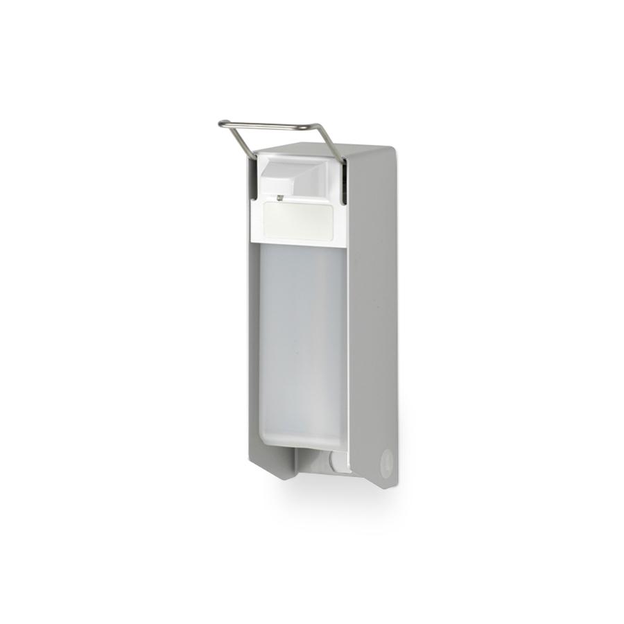 Dávkovač tekutého mýdla, dezinfekce a krému INGO-MAN E26 E/K, 0,5 l, nerez