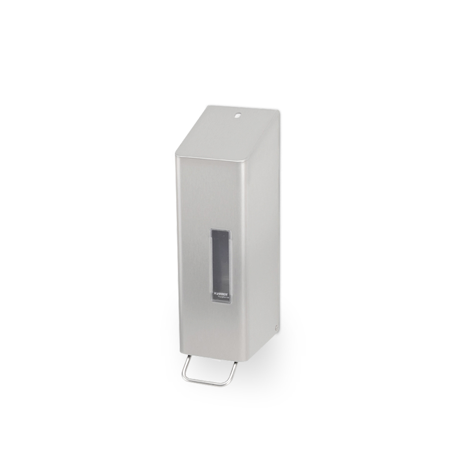Dávkovač tekutého mýdla SANTRAL NSU 11 E, 1,2 L,  matný nerez