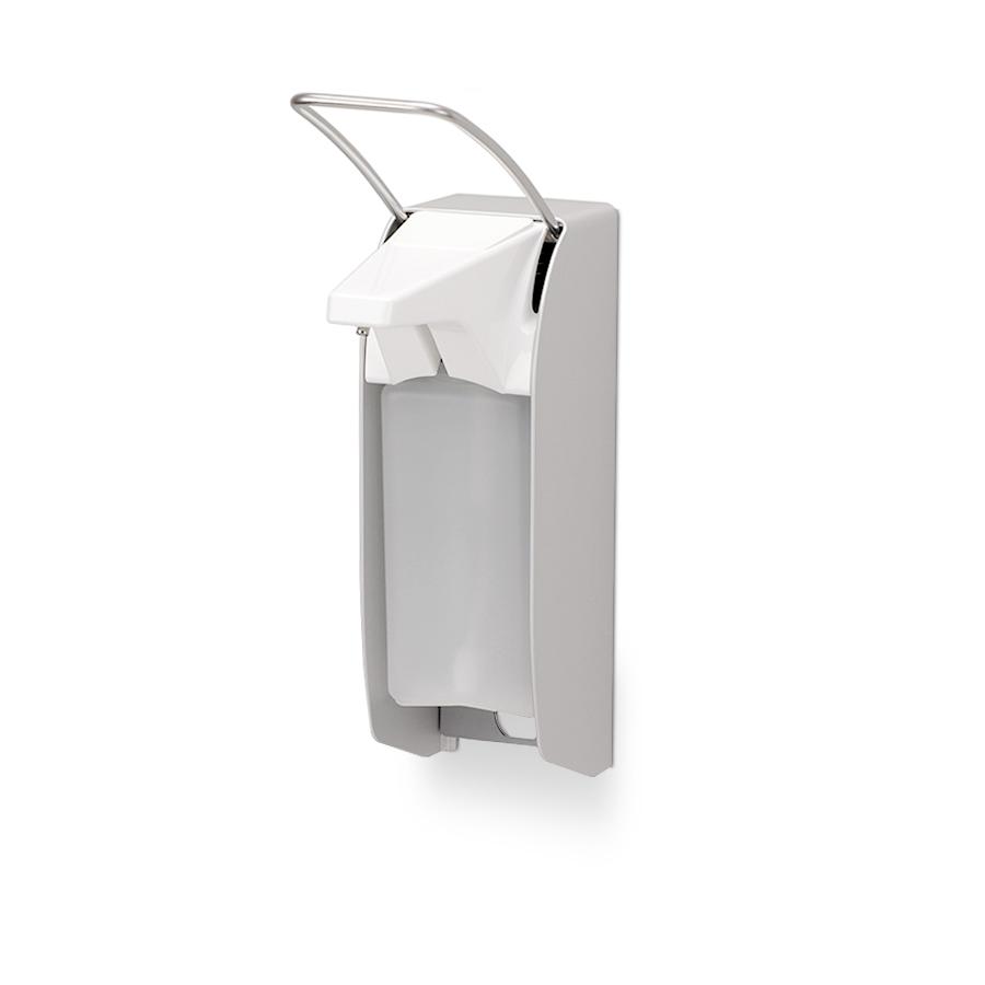 Dávkovač tekutého mýdla, dezinfekce, krému INGO-MAN  IMP E E/K, 0,5 l, nerez