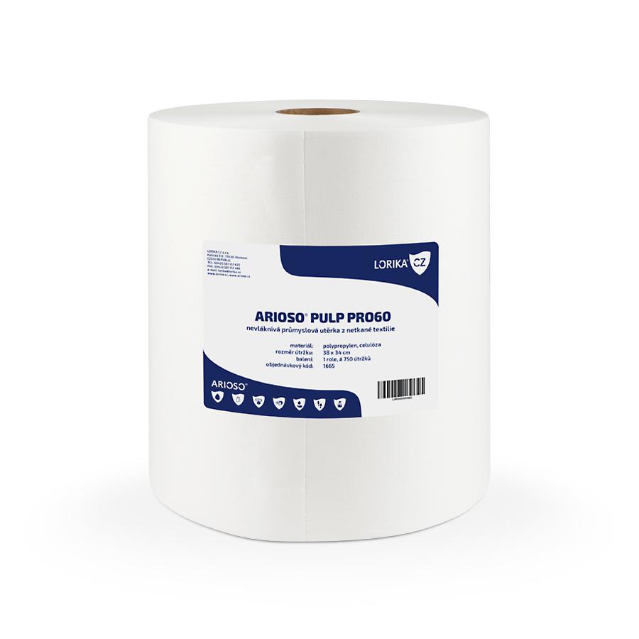 Utěrky ARIOSO PULP PRo60,  380 x 340 mm