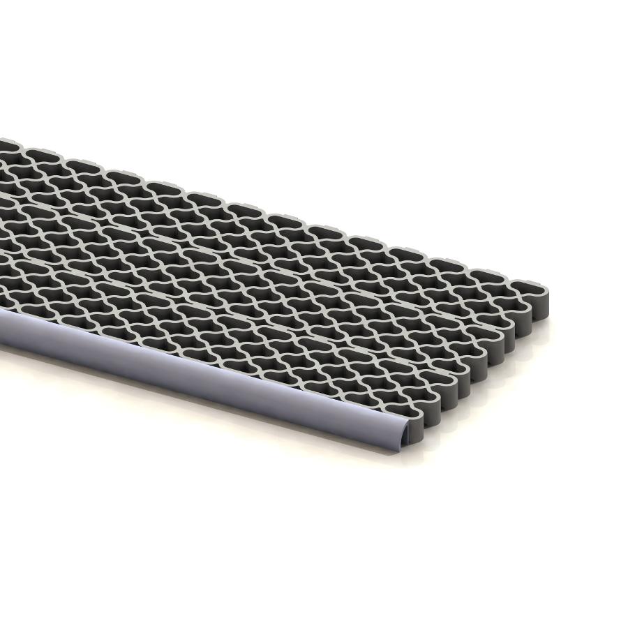 Rohož ARIOSO STEP, černá, modul 42,2 x 6,5 cm