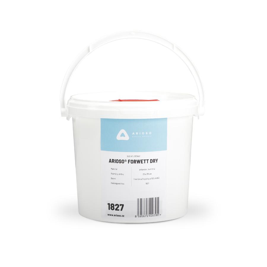 Utěrky ARIOSO ForWett suché, 250 x 300 mm, 3 kyblíky