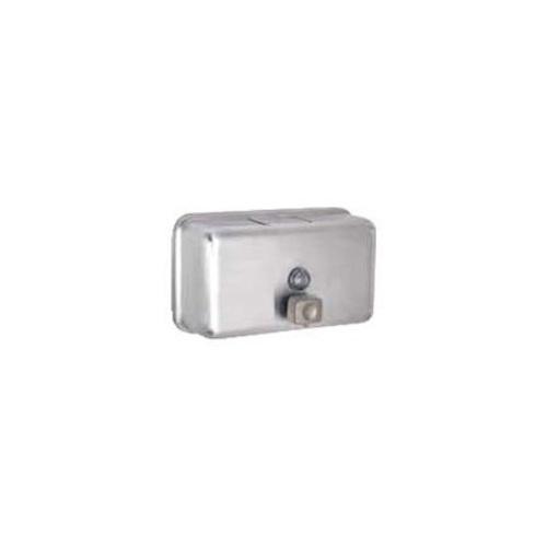 Dávkovač  mýdla SIMPLE SOAP NM, 1,2 l, horizont, nerez matný, záruka 6 měsíců
