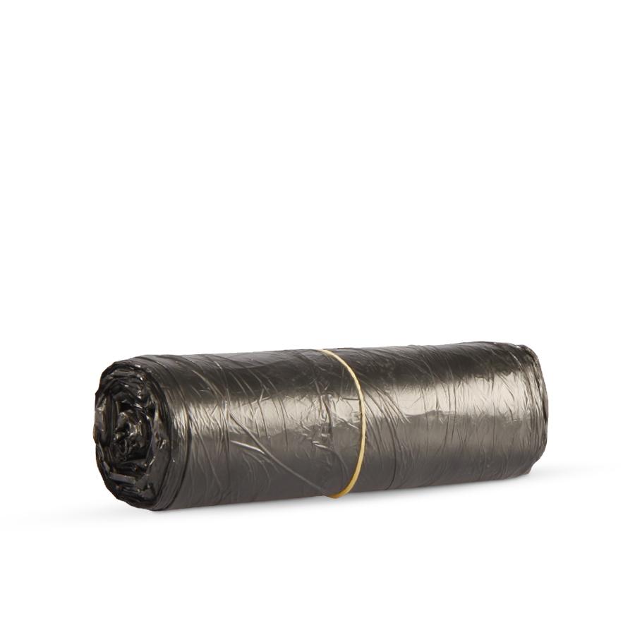 Sáček 500 x 600 mm, 30 l, černé, 50 ks