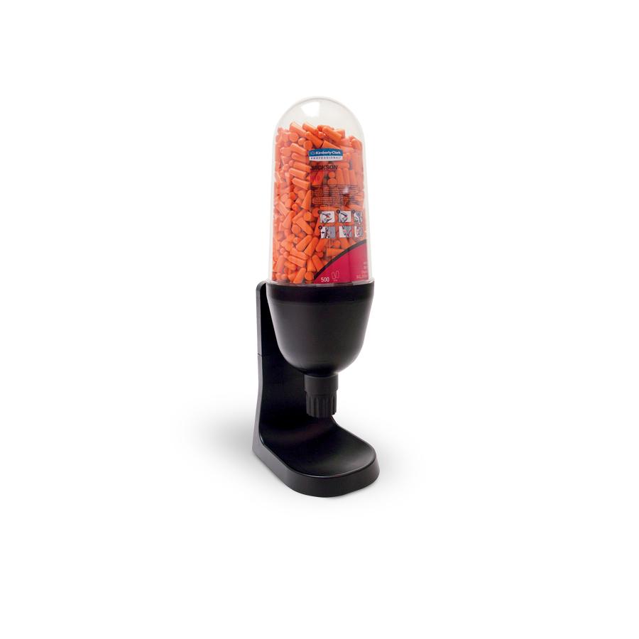 Zásobník JACKSON SAFETY na ušní zátky H10, černý