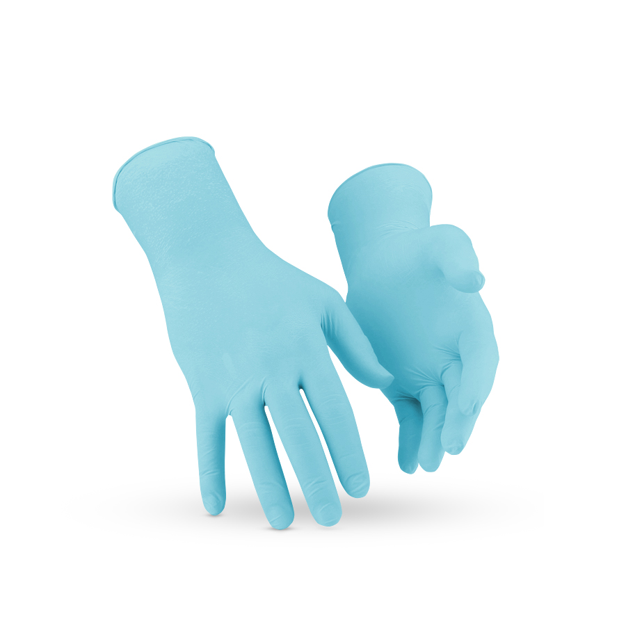 Rukavice KleenGuard* G20, nitril, modré, M, 1000 ks