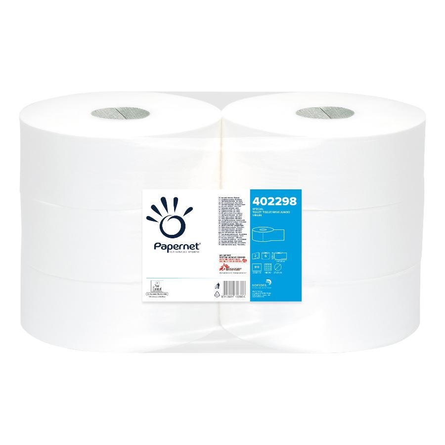 Toaletní papír Maxi Jumbo 27 special, bílý, 2 vrstvy, 6 rolí x 810 útržků