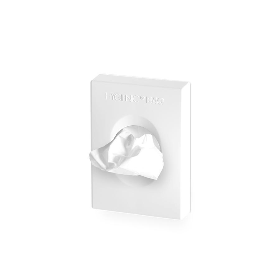Zásobník hygienických sáčků FOR LADY, bílý plast