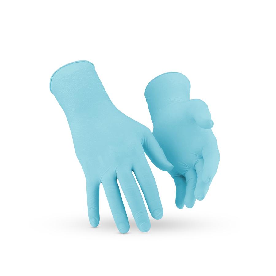 Rukavice KLEENGUARD* NITRIL, modré, S, 1000 ks