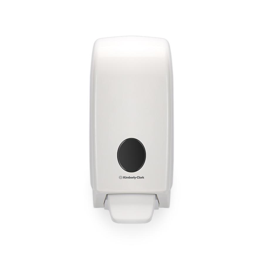 Dávkovač tekutého mýdla, pěny, dezinfekce AQUARIUS 6948, 1 l, plast, bílý