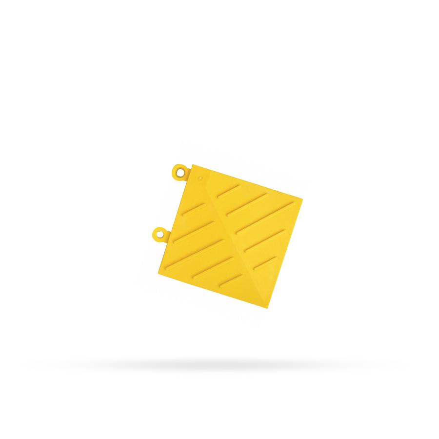 Hrana rohová k 621, 15 x 15 cm, žlutá