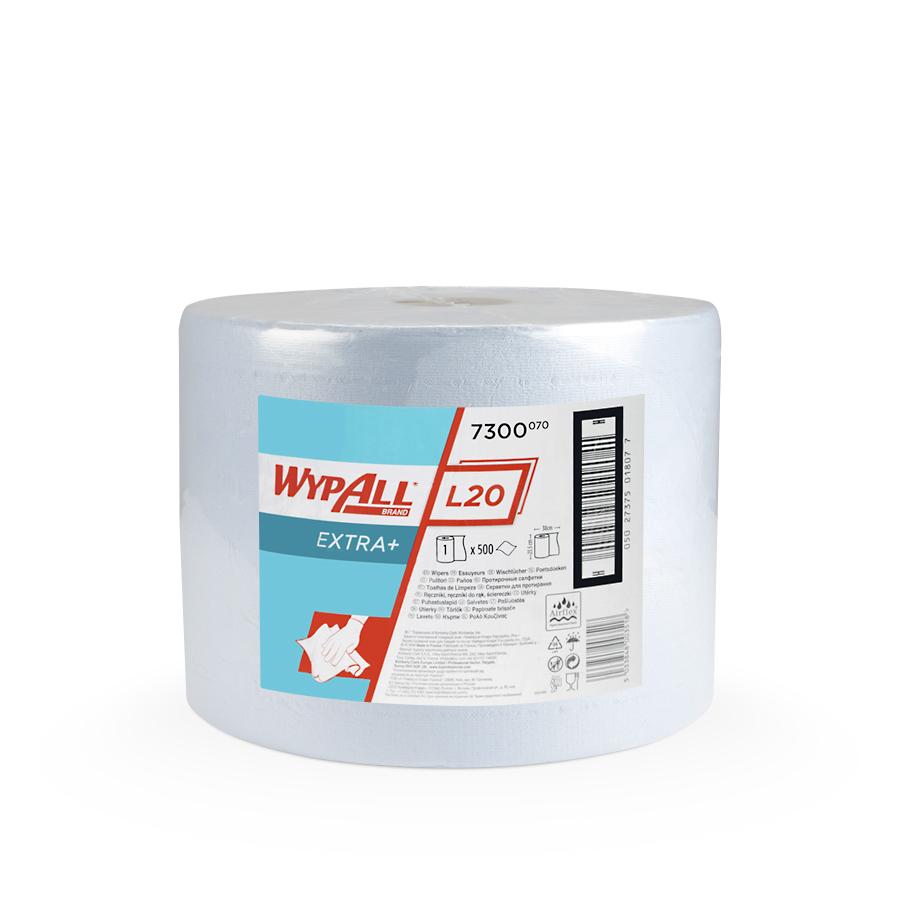 Utěrky WYPALL L20 EXTRA+, 380 x 235 mm