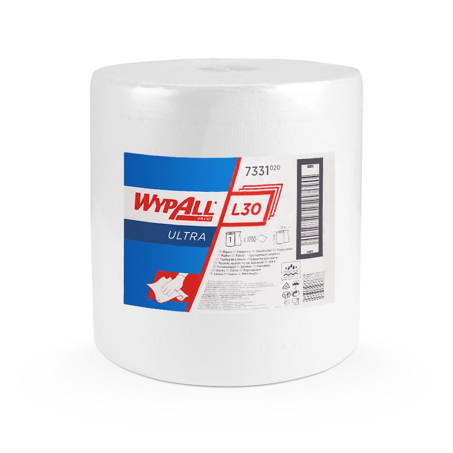 Utěrky WYPALL L30 ULTRA, 380 x 370 mm