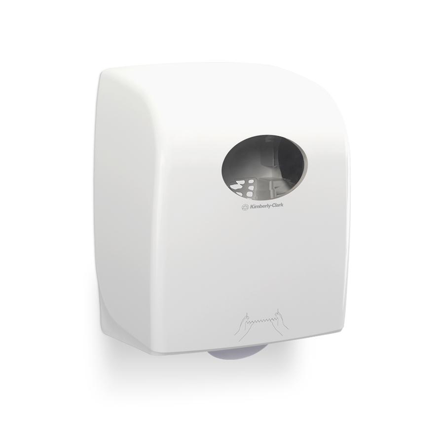 Zásobník papírových ručníků v roli AQUARIUS nový, plast, bílý