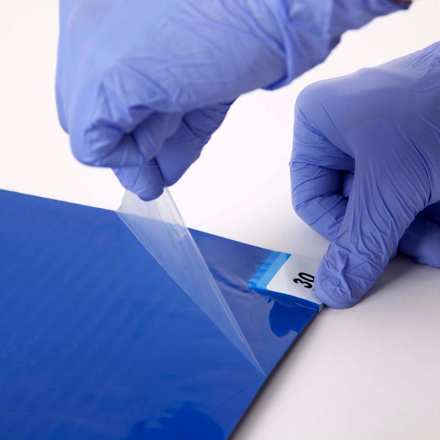 ARIOSO® STICKY MAT modrá 90 x 115 cm 30 listů