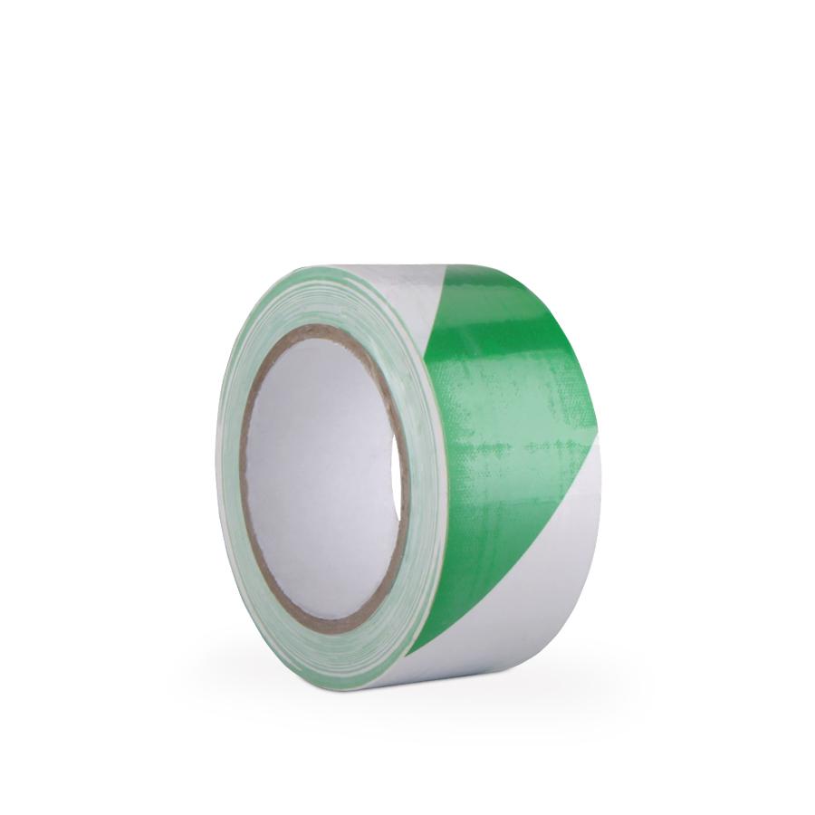 Páska ARIOSO TAPE, 50 mm x 33m, bílo/zelená, vyznačovací