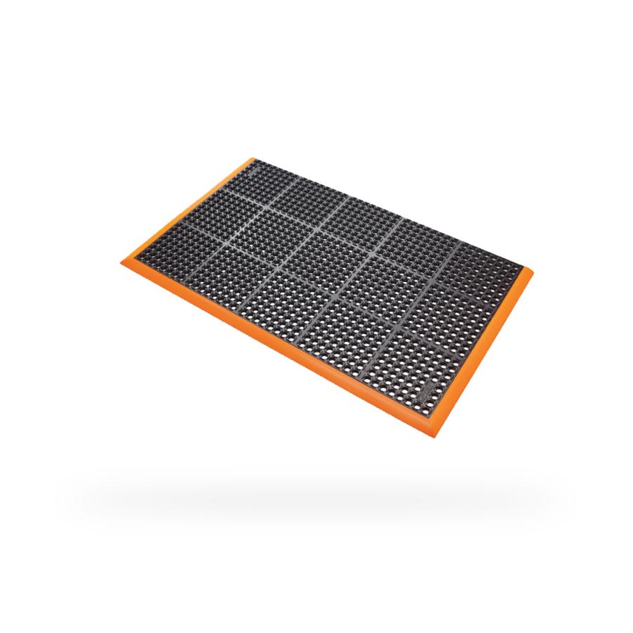 Rohož Safety Stance, 0,97 x 1,63 m, 3 oranžové hrany