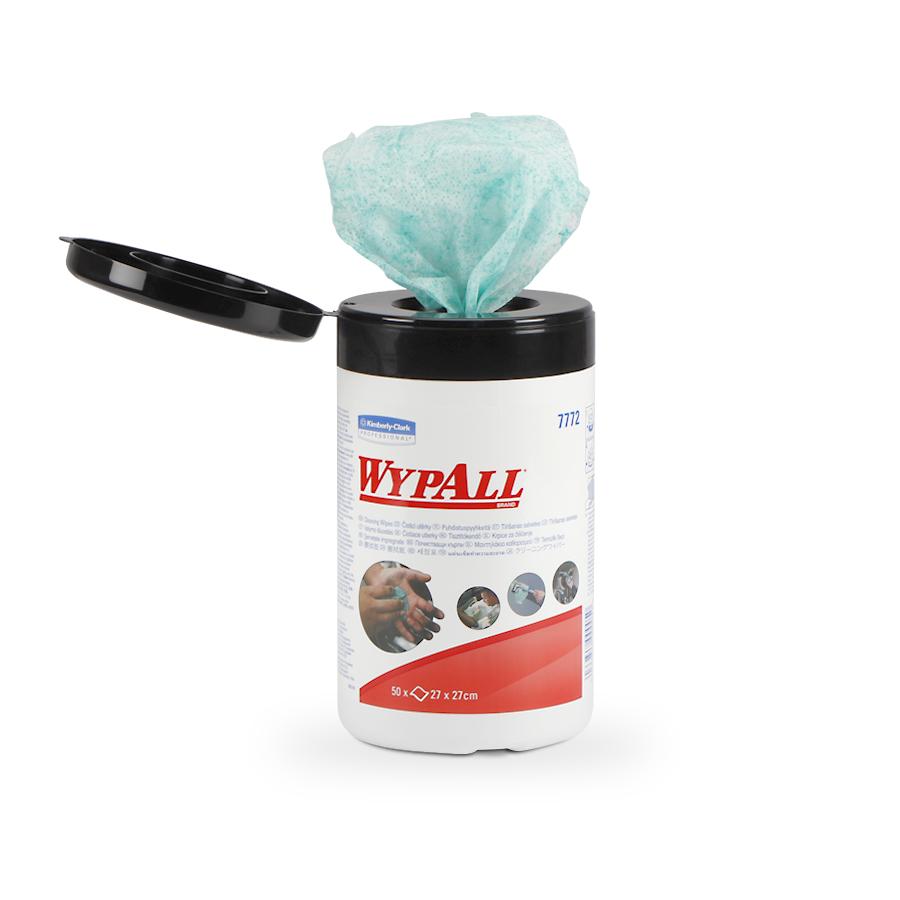 WypAll® vlhčené čisticí utěrky | 6 x 75 útržků