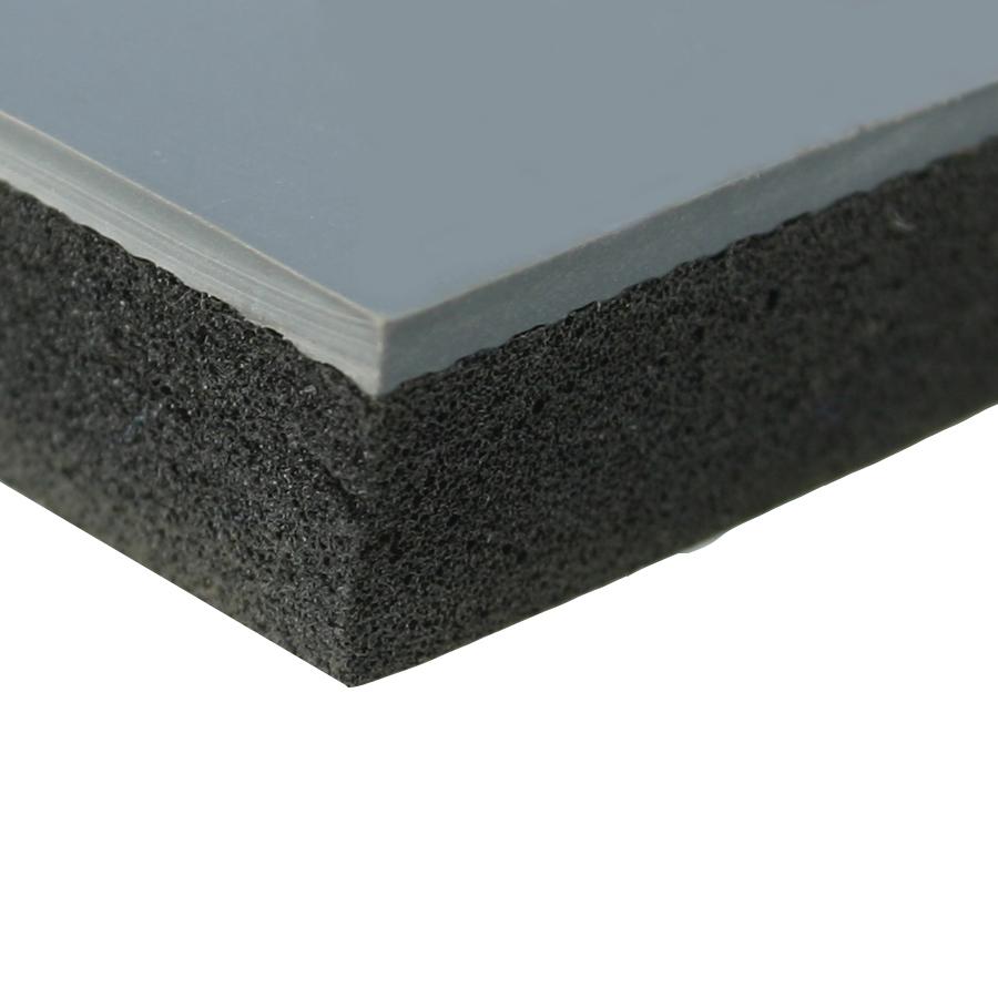 Rohož ARIOSO CLEAN, 0,9 x 18 m, šedá