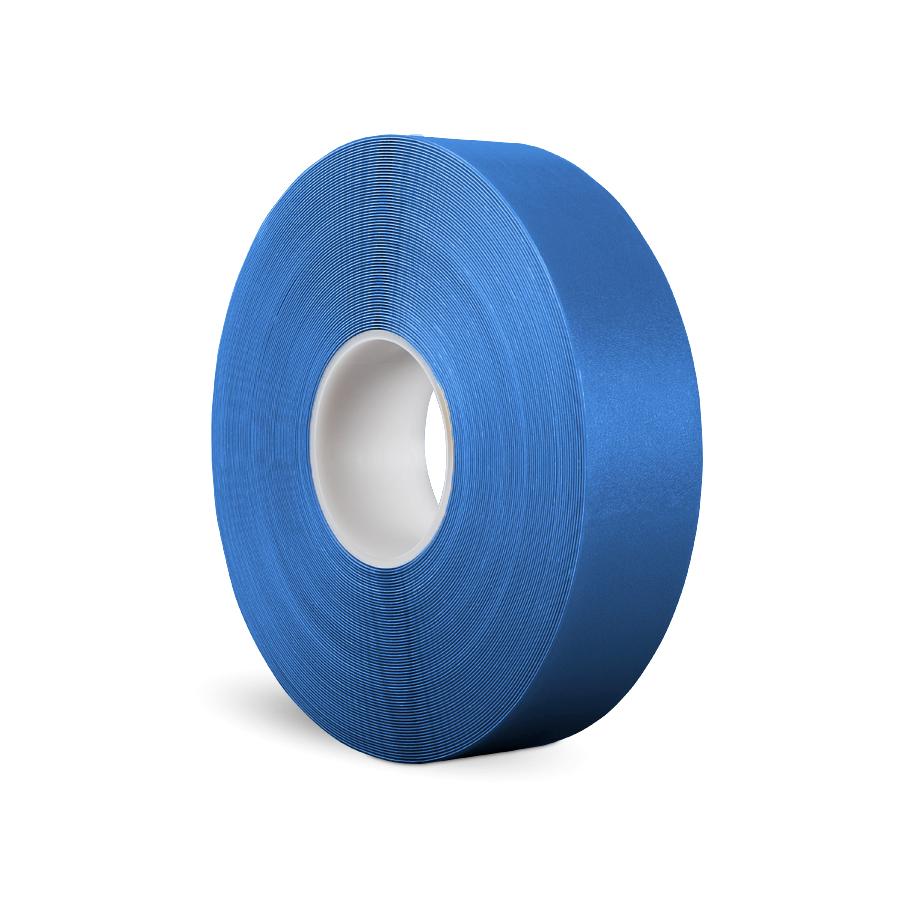 Páska P-Route 50 mm x 30 m, modrá, vyznačovací, PVC, tloušťka 0,96 mm