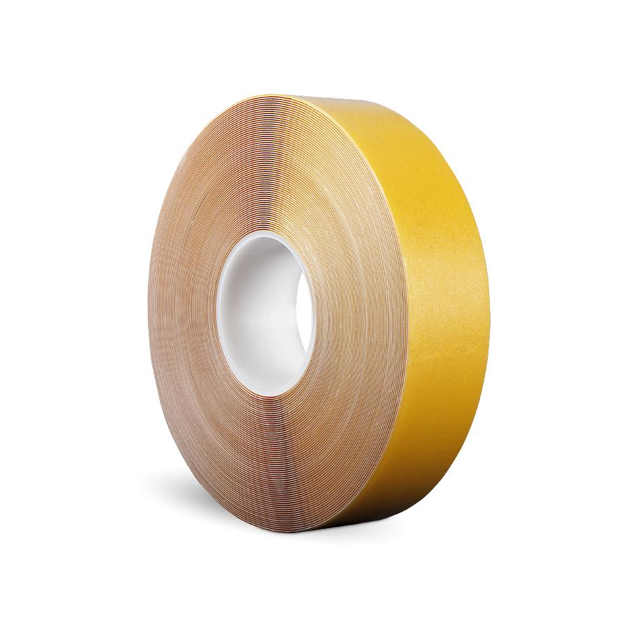 Páska P-Route 50 mm x 30 m, žlutá, vyznačovací, PVC, tloušťka 0,96 mm