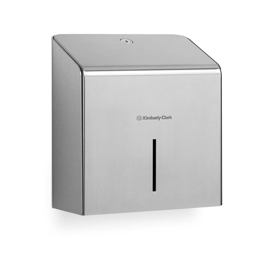 Zásobník toaletního papíru v roli KIMBERLY-CLARK Mini Jumbo 8974, nerez