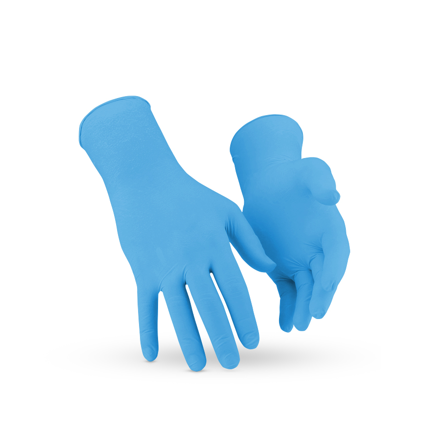 Rukavice KleenGuard* G10, nitril, Arkticky modré, M, 200 ks