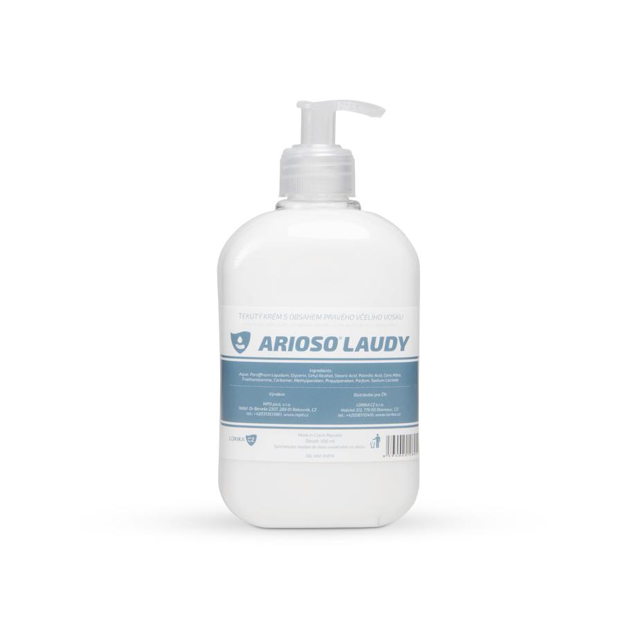 Krém tekutý ARIOSO LAUDY, 16 x 500 ml s dávkovačem