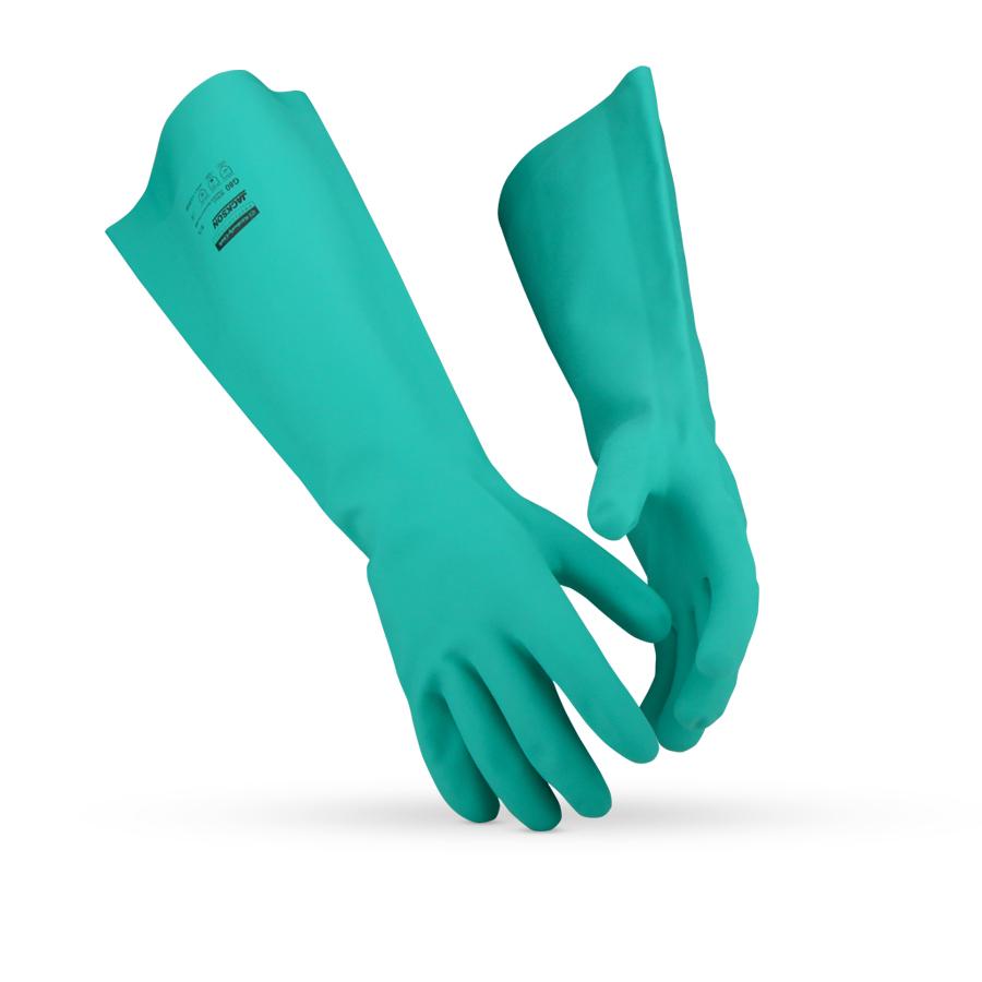 Rukavice JACKSON SAFETY* G80, zelená, 11/XXL, 60 párů