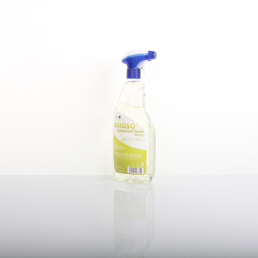 Prostředek čisticí ARIOSO UniversalClean Spray, 750 ml