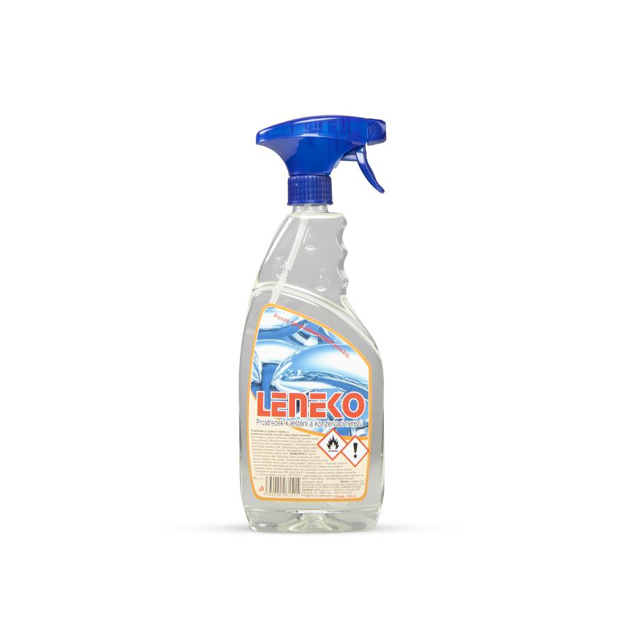 Prostředek čisticí LENEKO, 750 ml, čištění a leštění nerezových povrchů