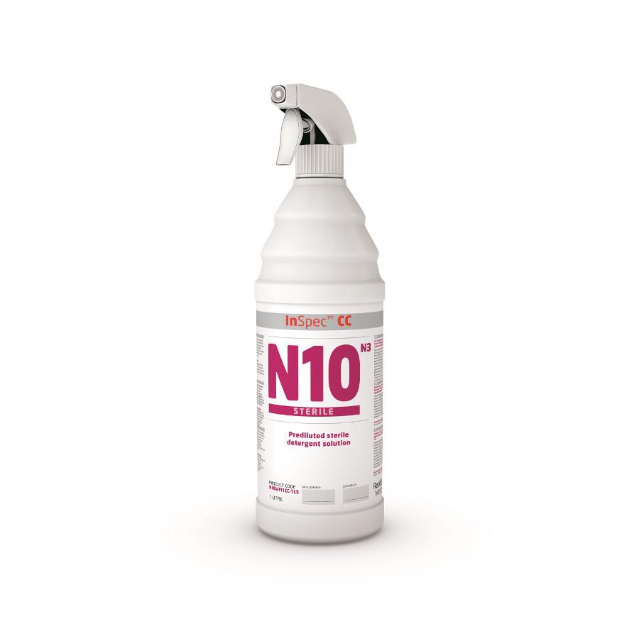 Přípravek čisticí InSpec N10 1L, rozprašovač, sterilní, Cleanroom ISO 5