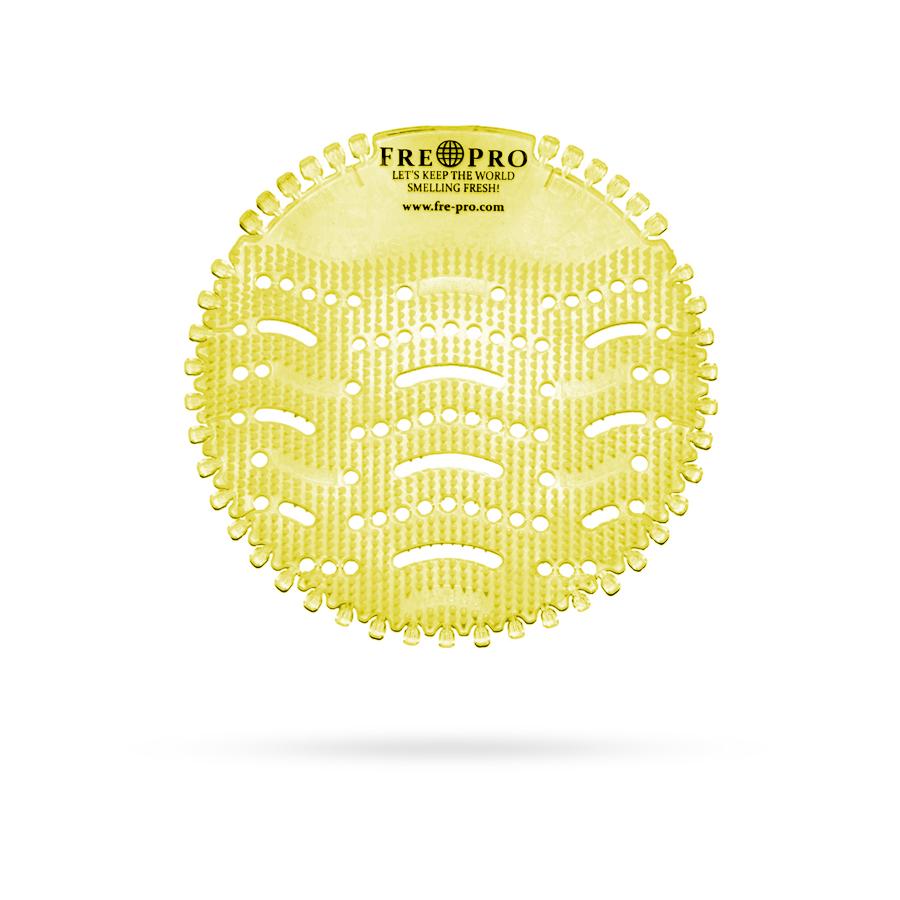 Sítko voňavé do pisoáru CITRUS, žlutá, 2 ks