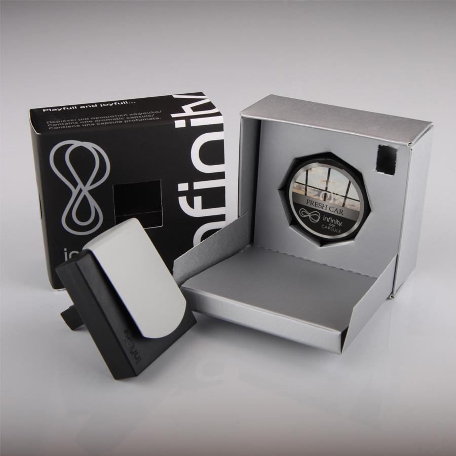 Osvěžovač Auto Infinity, FRESH CAR, s obsahem 1 kapsle zdarma