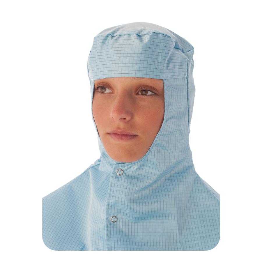 Pokrývka hlavy a krku do čistých prostor ISO 4