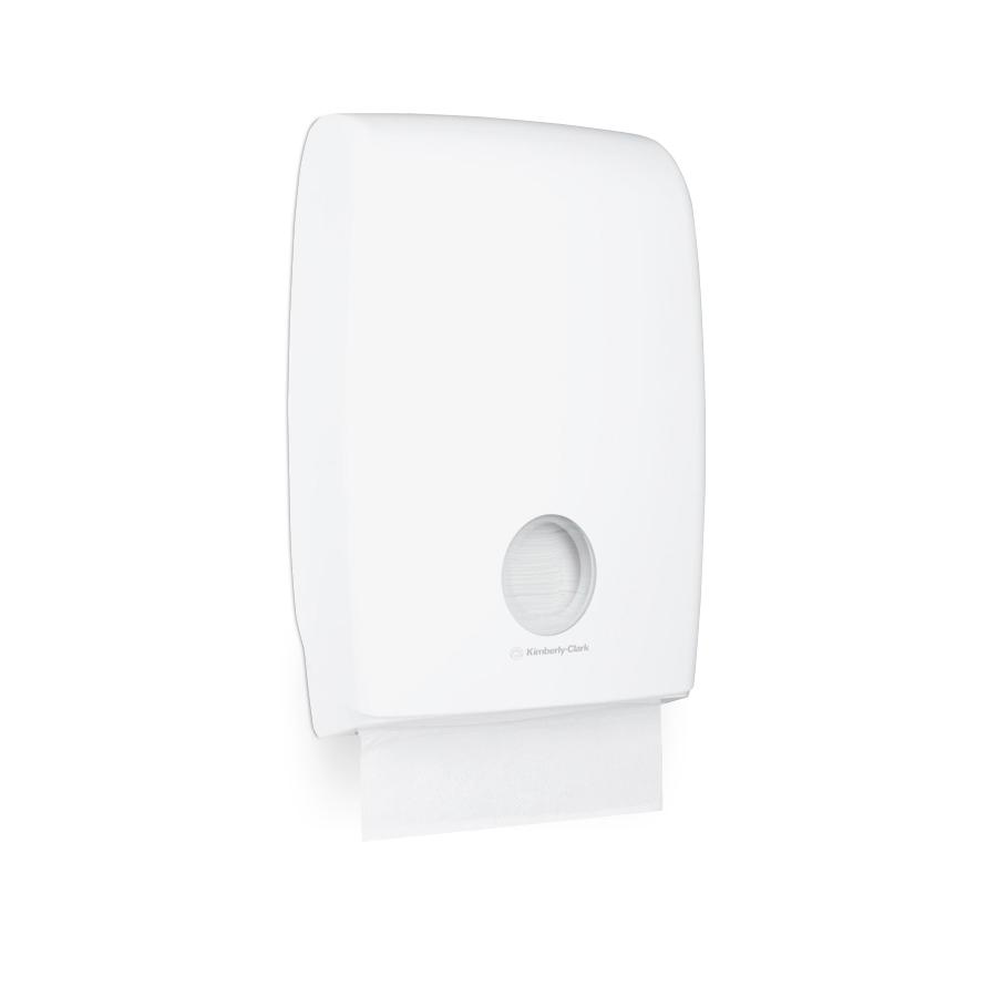 Zásobník skládaných papírových ručníků SLIMFOLD U7024, plast