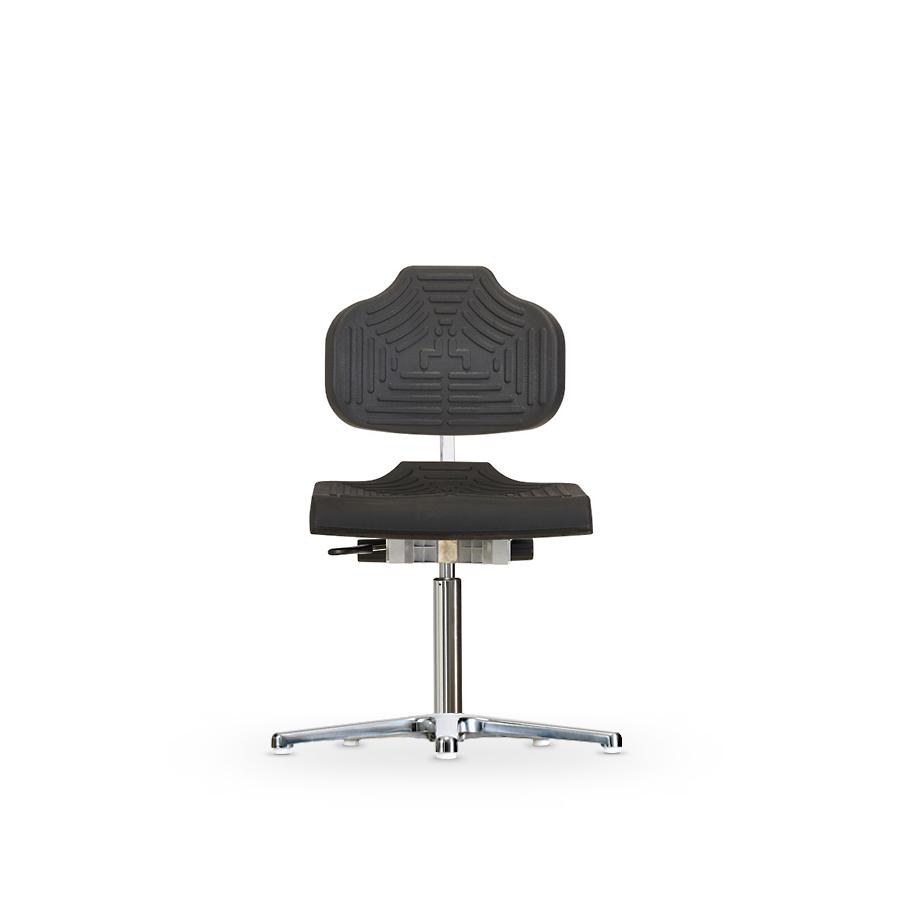 Židle WERKSITZ WS 1210 E ESD, polyuretanová, s kluzáky