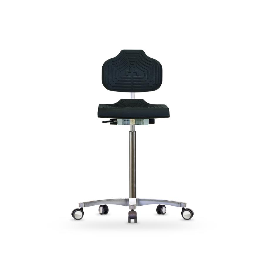 Židle CLASSIC WS 1211.20 E, polyuretanová, vysoká, sitz-stop kolečka