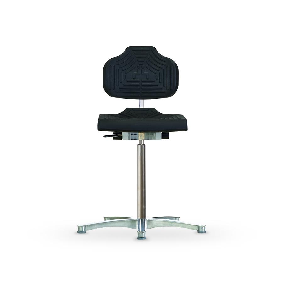 Židle WERKSITZ WS-1211 E ESD, polyuretanová, s kluzáky, vysoká