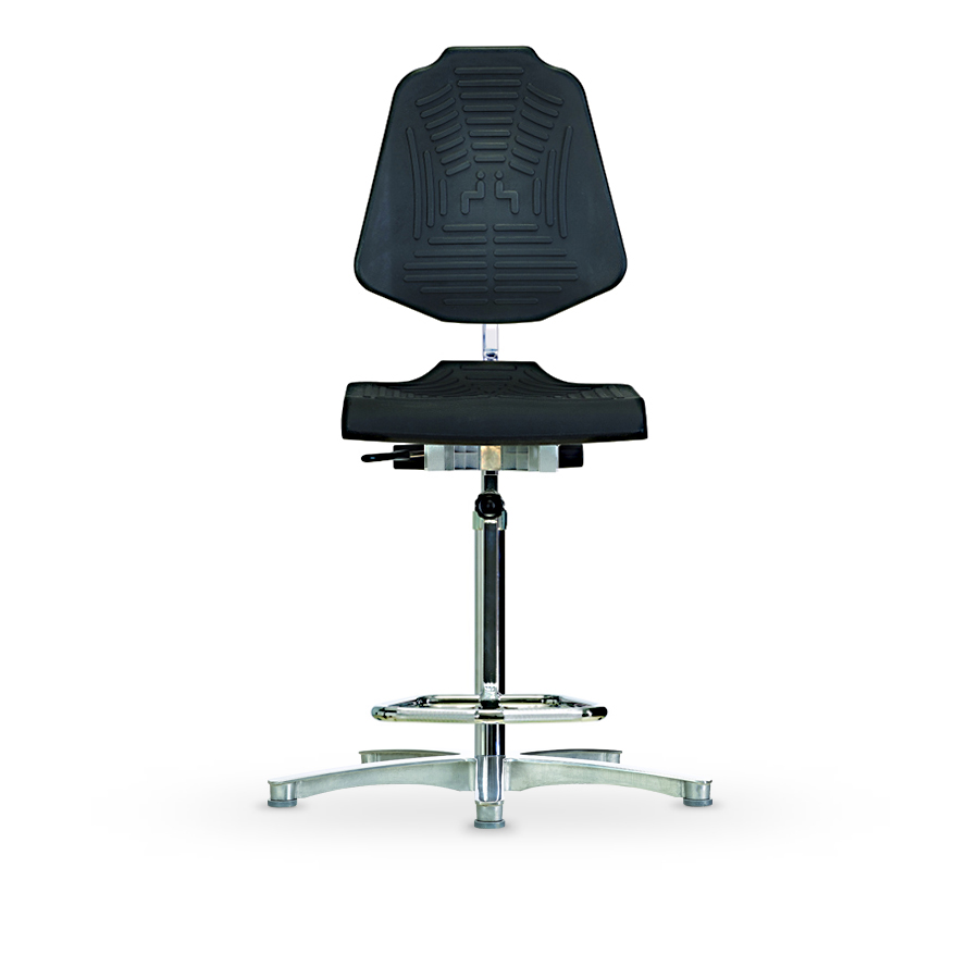 Židle WERKSITZ WS 1211 E XL, polyuretanová, s kluzáky, vysoká