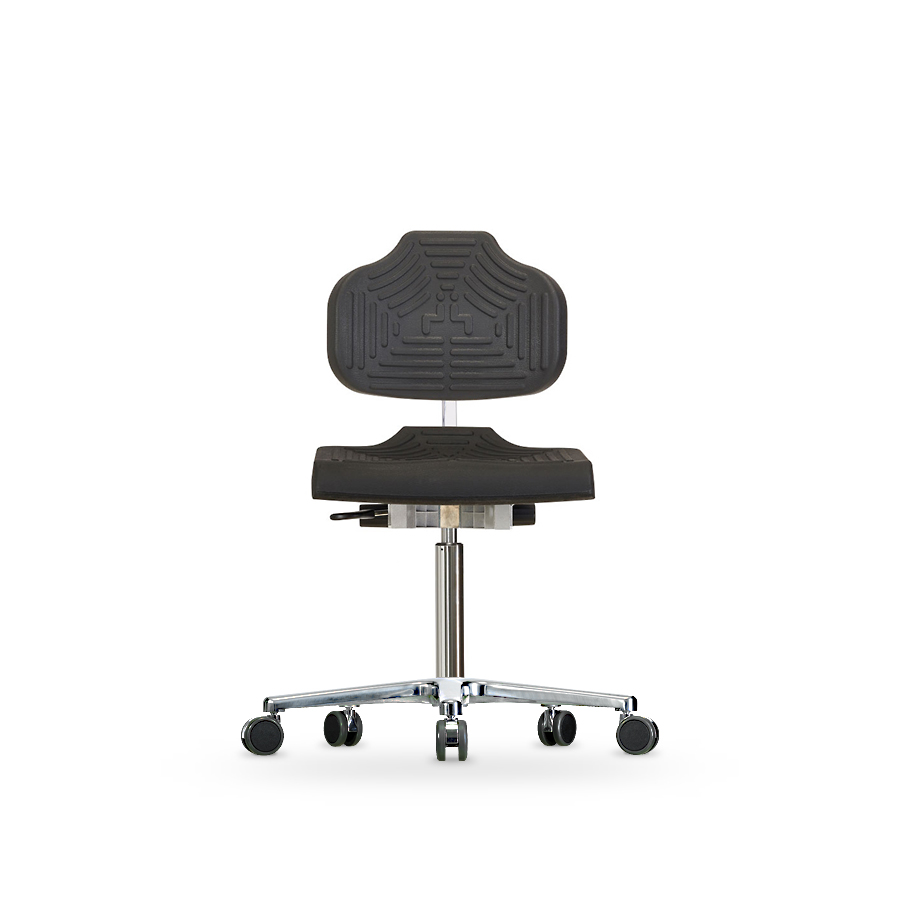 Židle CLASSIC WS 1220 E, polyuretanová, s kolečky