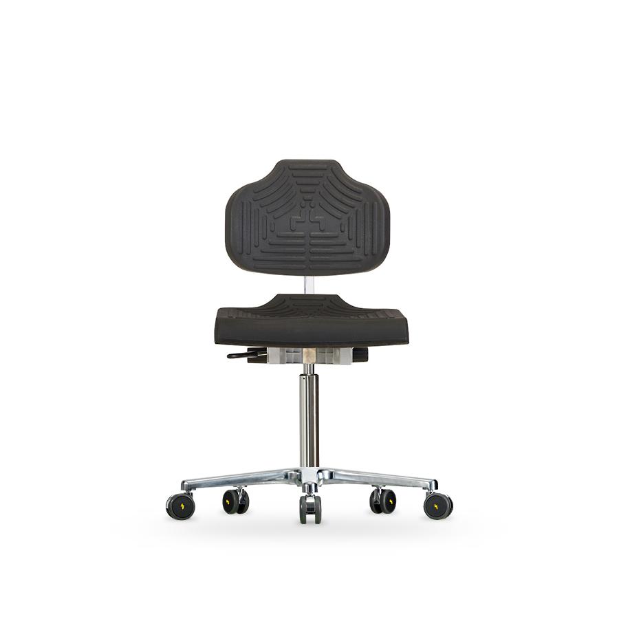 Židle WERKSITZ  WS 1220 E ESD, polyuretanová, s kolečky