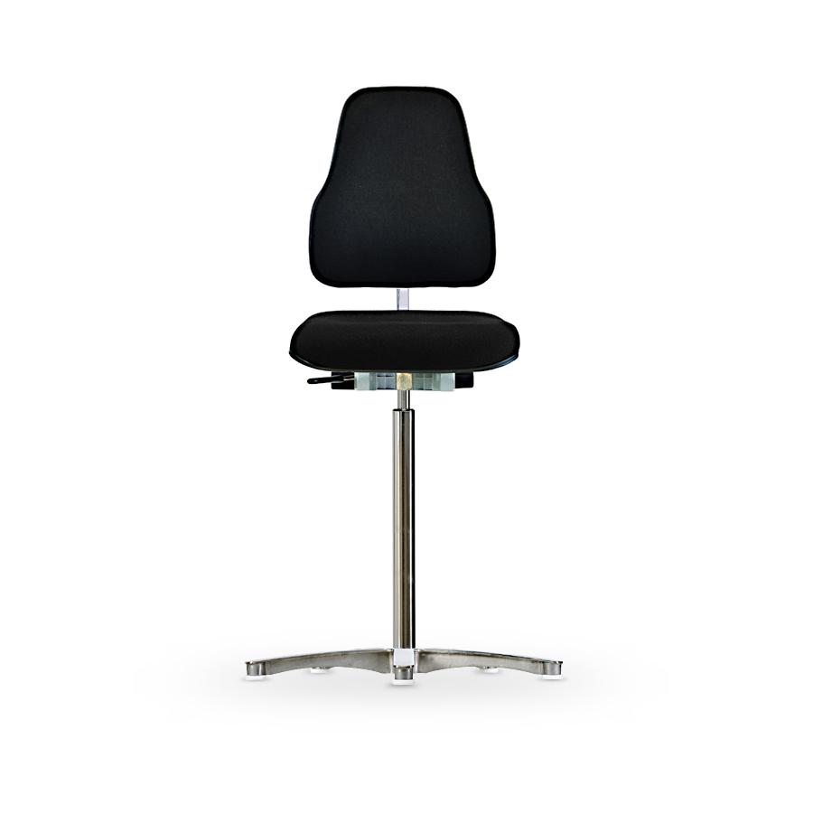Židle WERKSITZ WS 1311 XL, polstrovaná, s kluzáky, vysoká