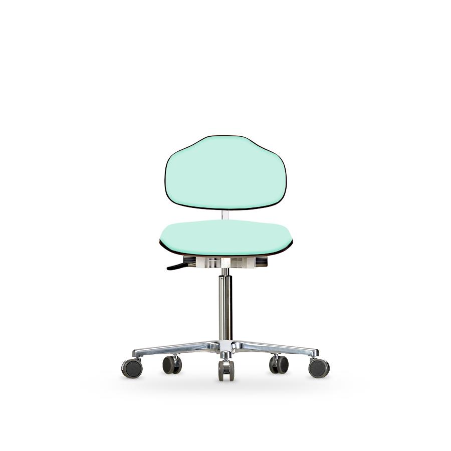 Židle CLASSIC WS 1320 KL, koženková, s kolečky