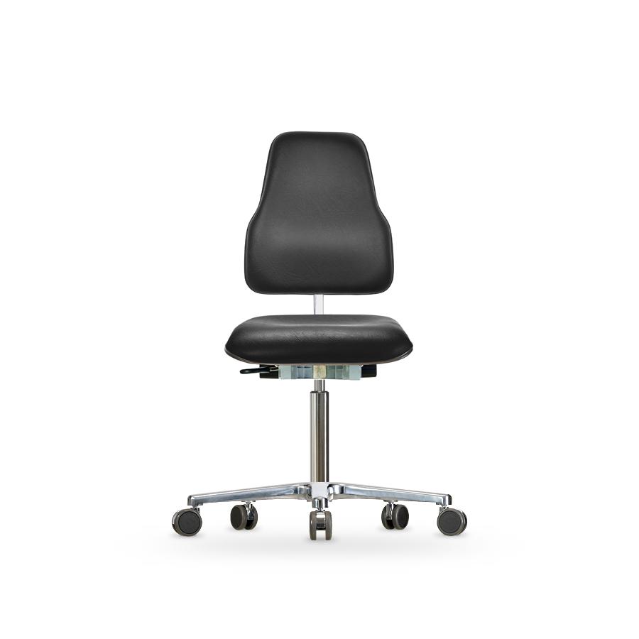 Židle Classic WS 1320 KLXL, koženková, s kolečky