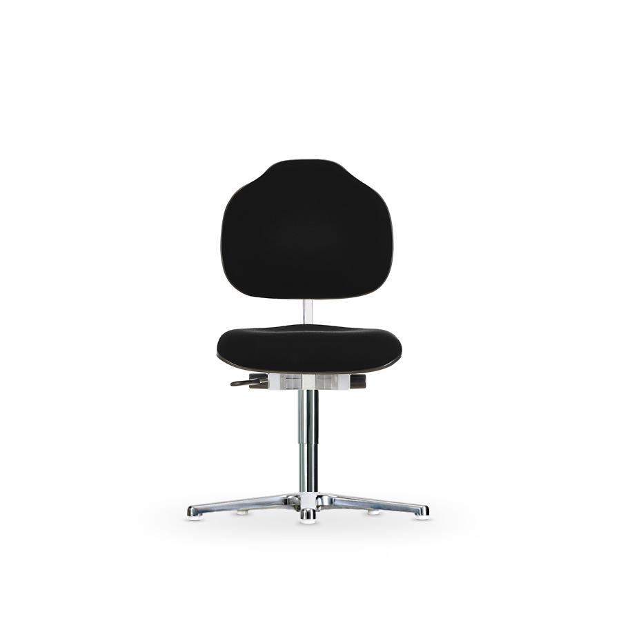 Židle WERKSITZ WS 1610 ESD XL, polstrovaná, s kluzáky