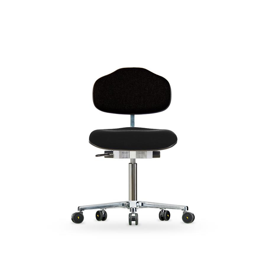 Židle WERKSITZ WS 1620 ESD, polstrovaná,  s kolečky