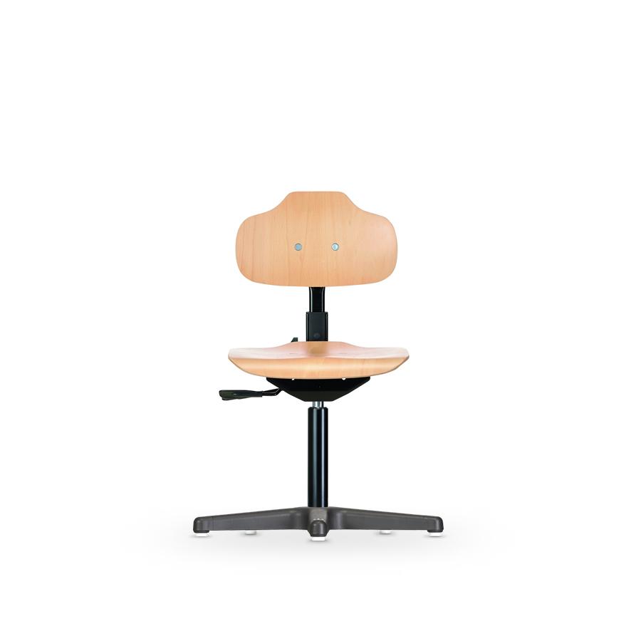 Židle ECONOLINE WS 2110, dřevěná, s kluzáky